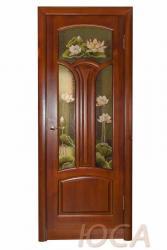 Межкомнатная дверь Капри светлый дуб ПГ - Двери