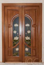 Двери из дерева липы, осины, для бани и сауны, купить